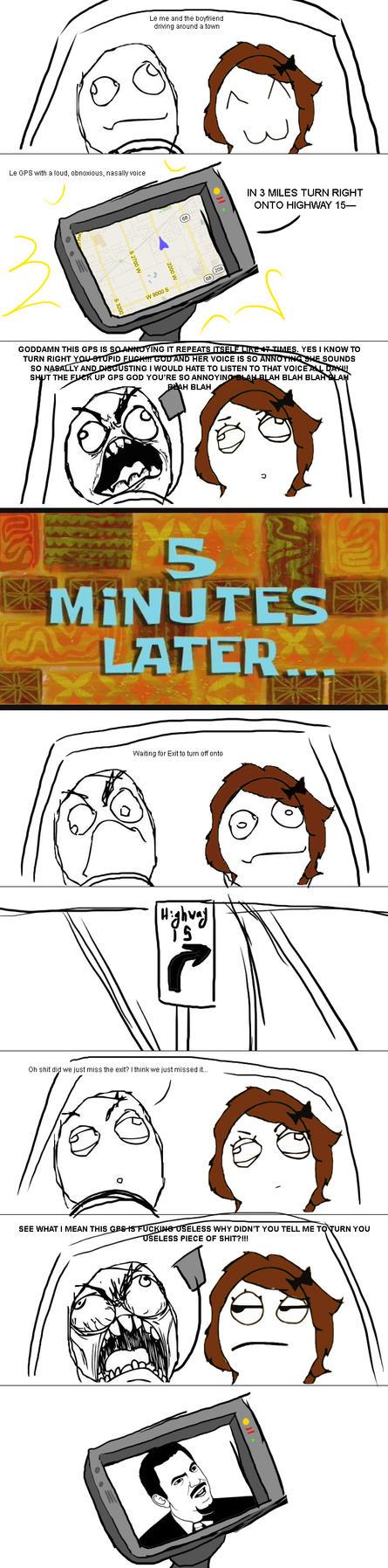 GPS Rage by NabbieKitty