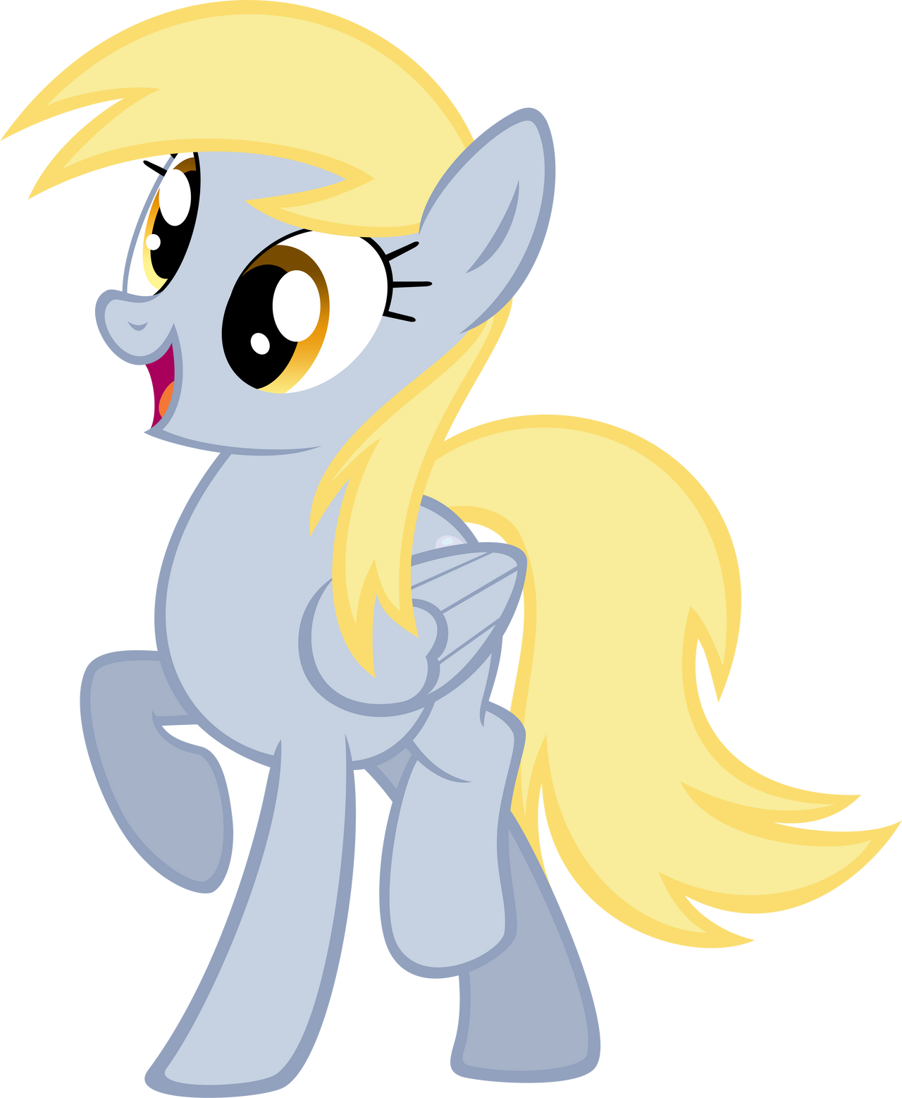 Derpy by NabbieKitty