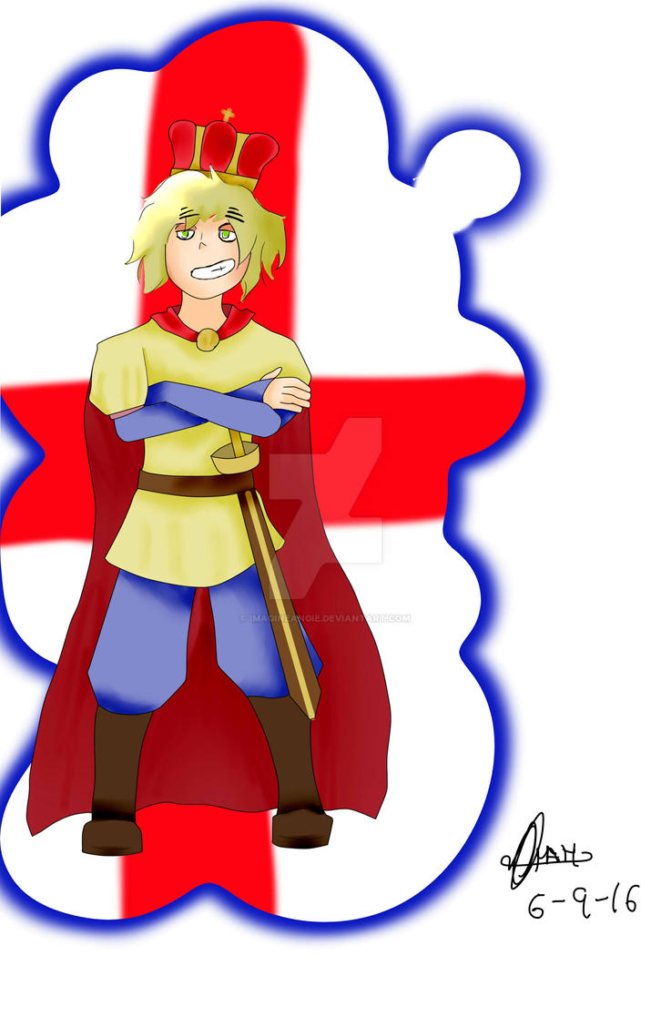 England as KIng George (Hamilton) by ImagineAngie