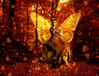 Woodland Fairy Queen by la-voisin