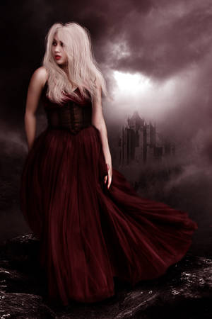 Red Witch by la-voisin