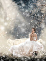 Winter in the Enchanted Forest by la-voisin