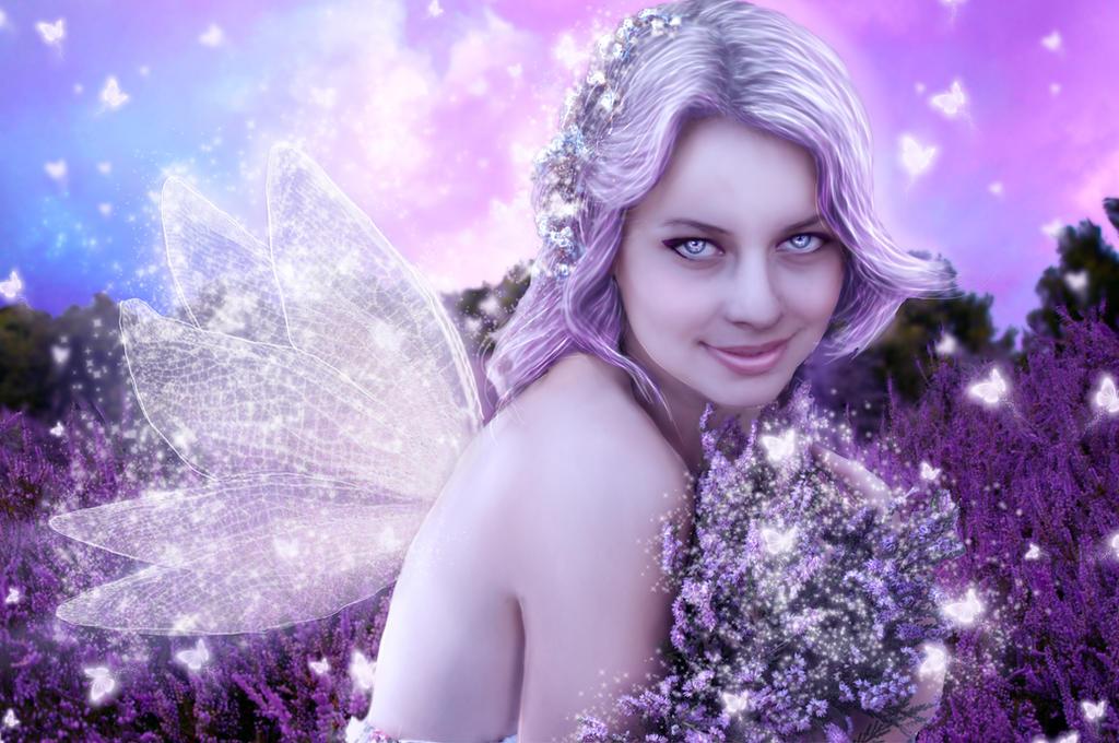 Dreams in Lavender by la-voisin