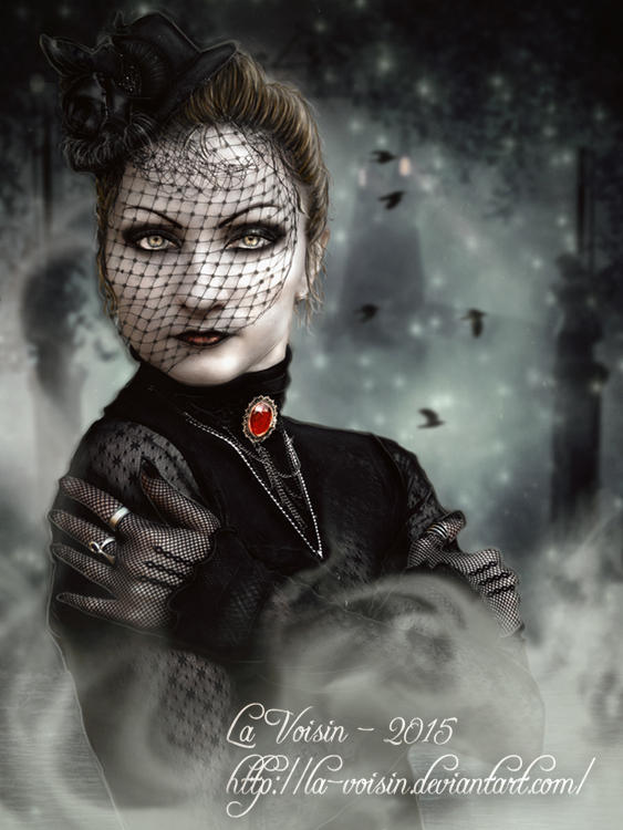Mrs Harker by la-voisin