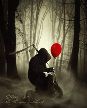 My Little Red Balloon by la-voisin