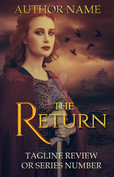 The Return - Premade Book Cover