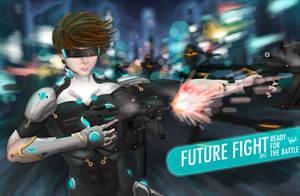 Future Fight by bobbyhrty
