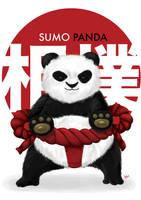Sumo Panda by bobbyhrty