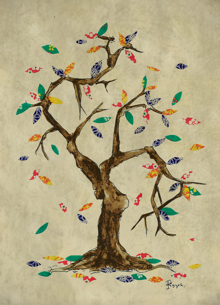 analogi sebuah pohon by montendo