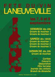Fete du vin de La Neuveville - Poster by PicaFox