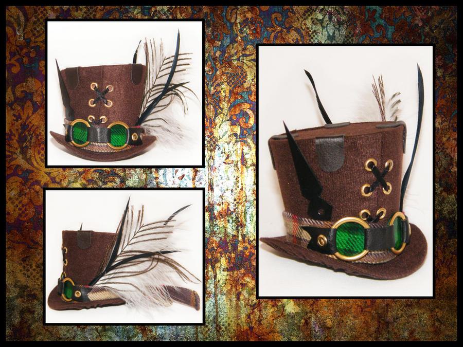 Steampunk Goggle Clock Mini Ha by Lolanova