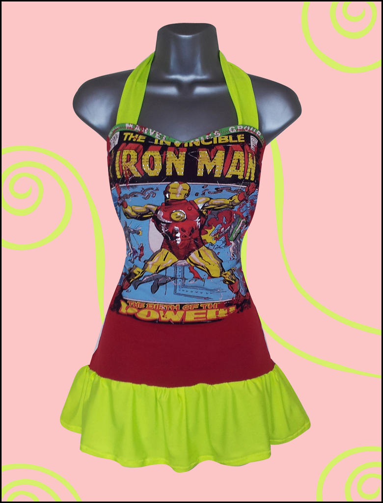 iron man t shirt upcycle reconstruction by lolanova on deviantart. Black Bedroom Furniture Sets. Home Design Ideas