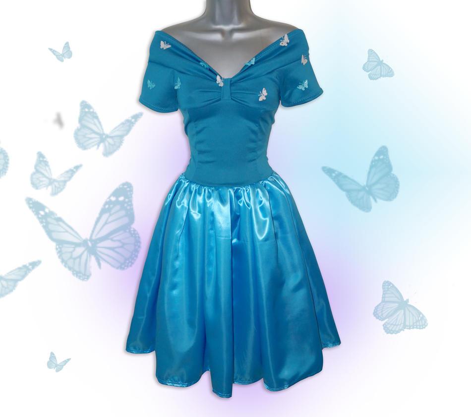 Cinderella 2015 New Butterfly Dress by Lolanova