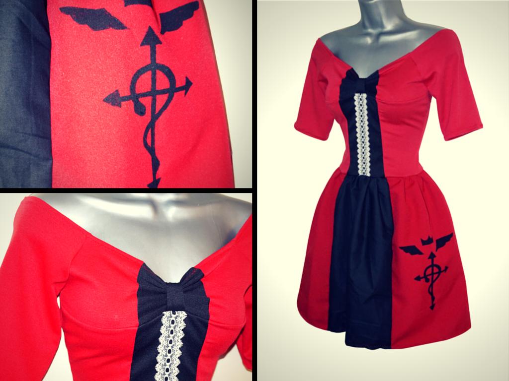 Fullmetal Alchemist: Edward Elric Coat Dress by Lolanova