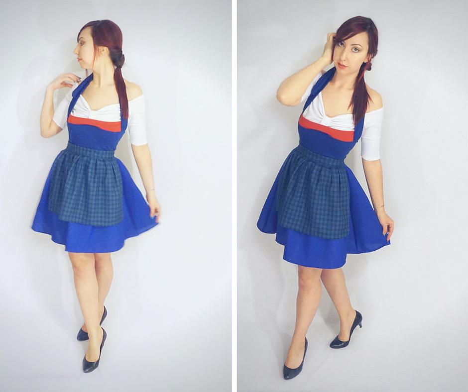 Belle 2017 Blue Dress by Lolanova