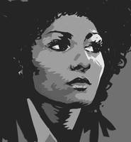 PamGrier by Alec-M