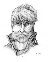 Pencil Portrait - Luke by Owand