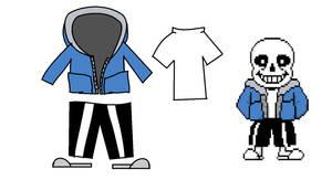 Sans Clothes