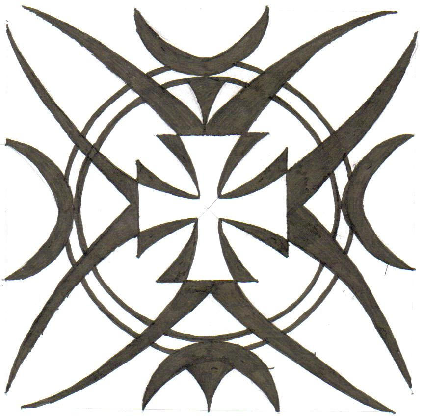 It's just an image of Handy Iron Cross Drawing
