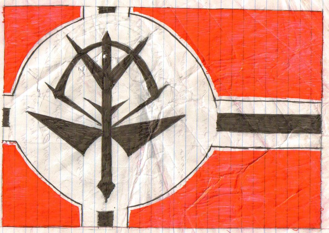 Zeon Flag by ARolf60  Zeon Flag Wallpaper