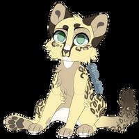 Leopard cat Auction CLOSED sb 50 by WaiakoAdoptable