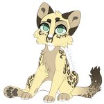 Leopard cat Auction CLOSED sb 50