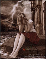 sad rain by vivi-art
