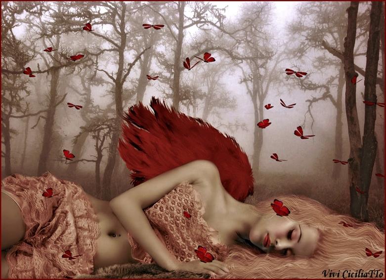 Red angel by vivi-art