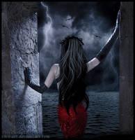 Contemplating the storm by vivi-art