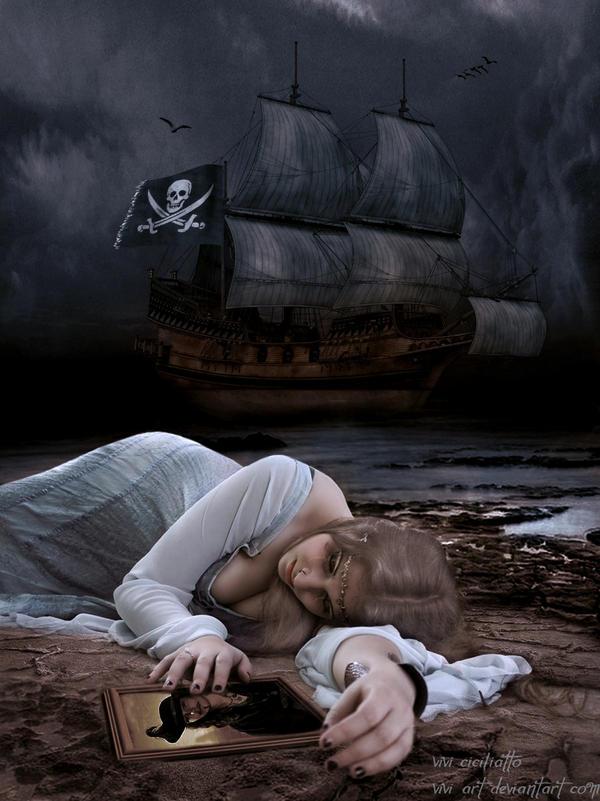 Pirate romance by vivi-art