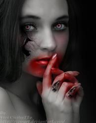 zombie girl by vivi-art