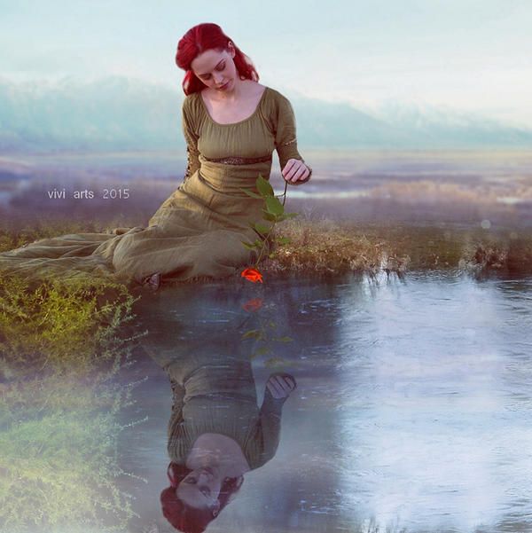 Among the memories that were in the reflection by vivi-art