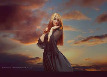 Red sky by vivi-art