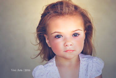 Angel Face by vivi-art