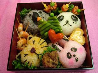 Yummy rice-ball Desktop :3 by Brianne22