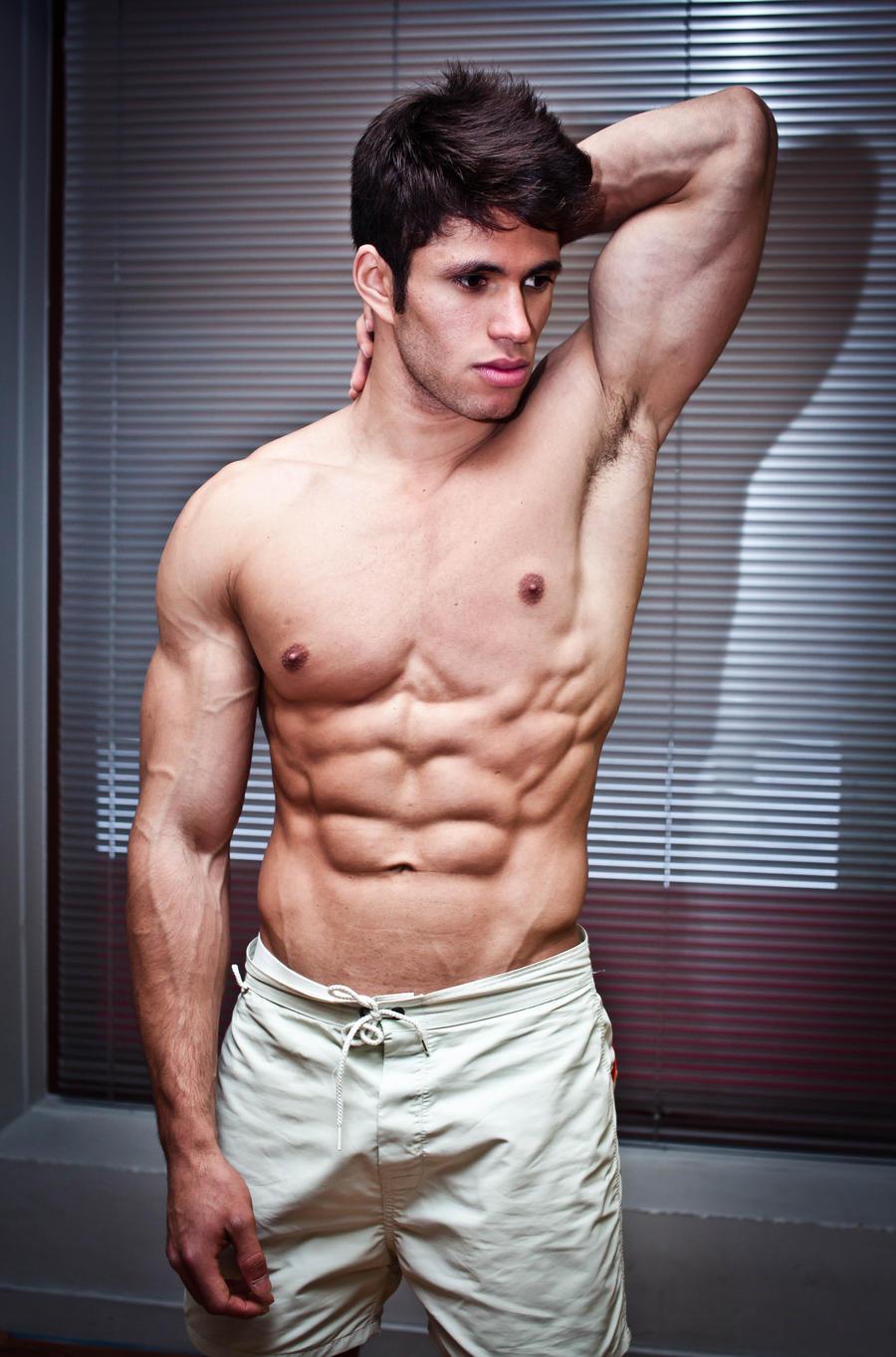 Fitness man by RLPhotographs