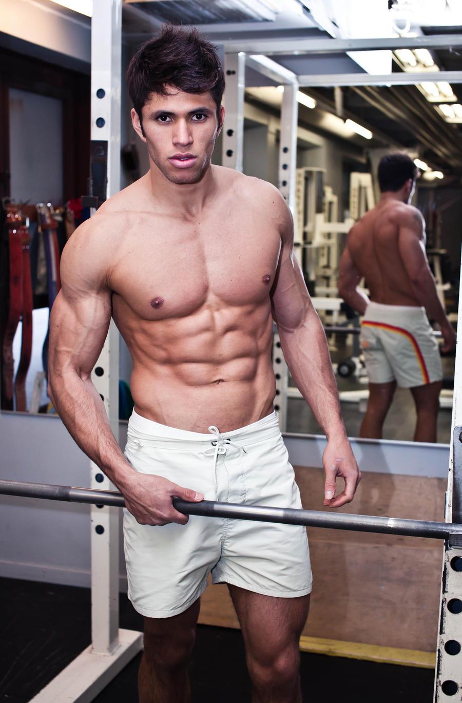 Fitness man 2 by RLPhotographs
