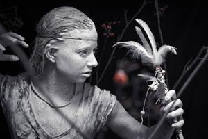 American Indian Witch by RasmusLuostarinenArt