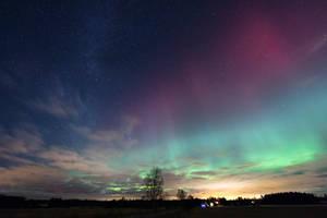Northern Lights by RasmusLuostarinenArt