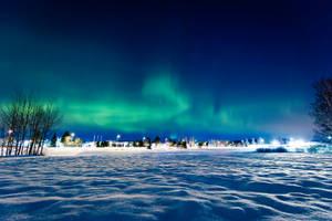 Winter Night by RasmusLuostarinenArt