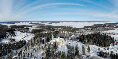 Church by RasmusLuostarinenArt
