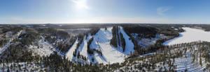Ski resort center
