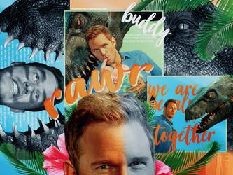 + Rawr [ Chris Pratt ] by youremyonlydream