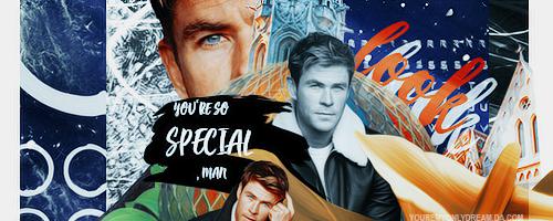 + Look [ Chris Hemsworth ] by youremyonlydream