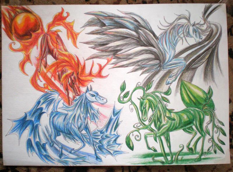 4 elements by viktes