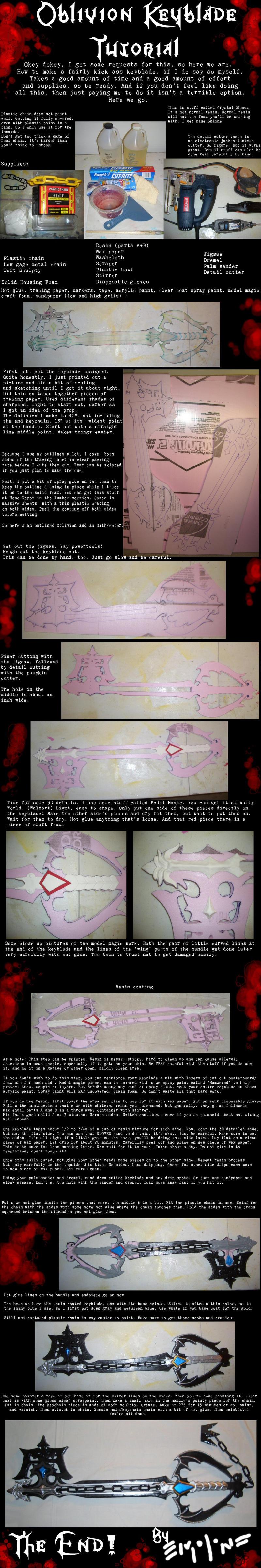 Terkini Oblivion Keyblade Tutorial