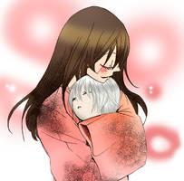 Nanami and Chibi Tomoe by xXxIzaloraxXx