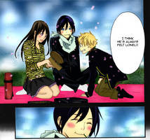 Noragami Ch 24: I think he's always felt lonely by xXxIzaloraxXx