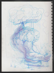 pretty much blue by FosterCreativity101