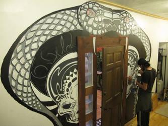 Cobra Mural by FosterCreativity101
